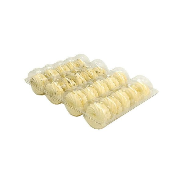 KIT - Blister Macarons - 20 Cavidades - Praticpack - Pacote c/ 50 unidades