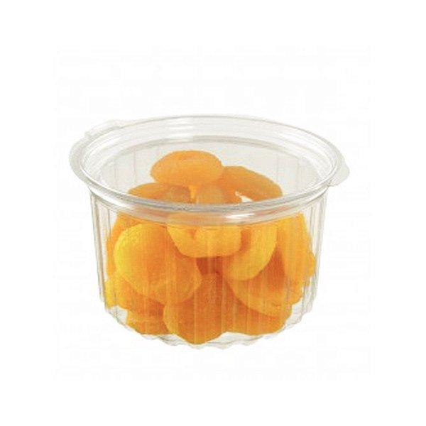 KIT - Pote Redondo 500 ml - Articulado - Descartável - Praticpack - Caixa 200 peças