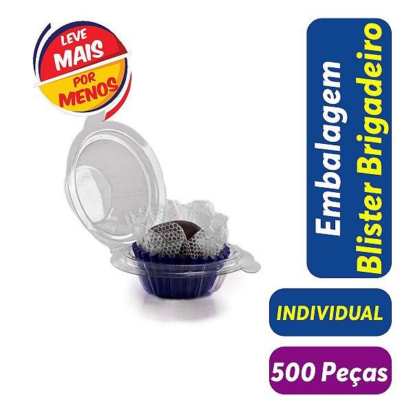 KIT - Blister Docinho, Brigadeiro - Individual - 3,5x3,0 - Praticpack - Pct com 500 unid.
