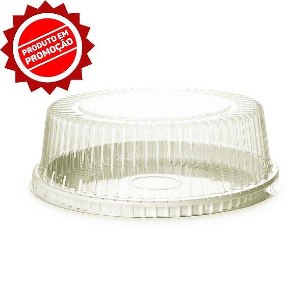 KIT - Embalagem Bolo - PN 56 MEDIO 1,7 Kg - Branco - Praticpack - Caixa c/ 50