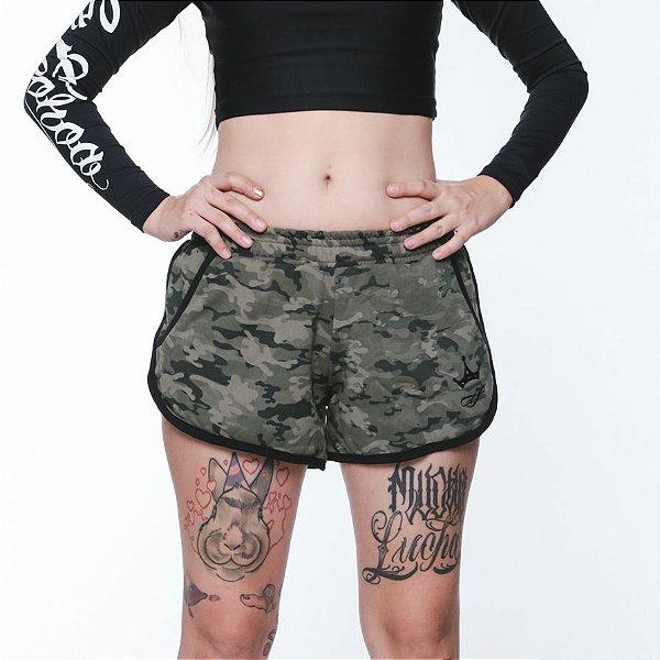 Shorts | La Coroa | Camo Green