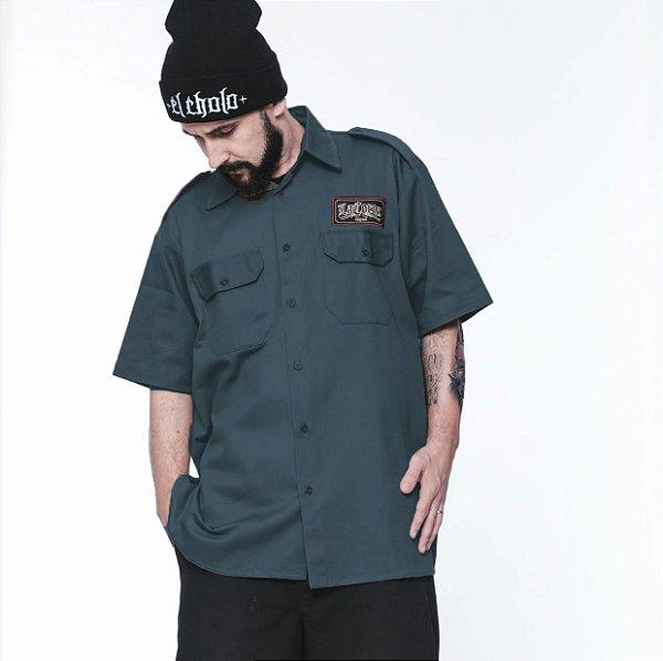 Camisa La Coroa work shirt | Chumbo