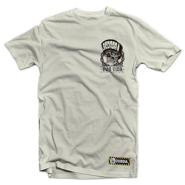 Camiseta Por Vida| La Coroa  | Off White