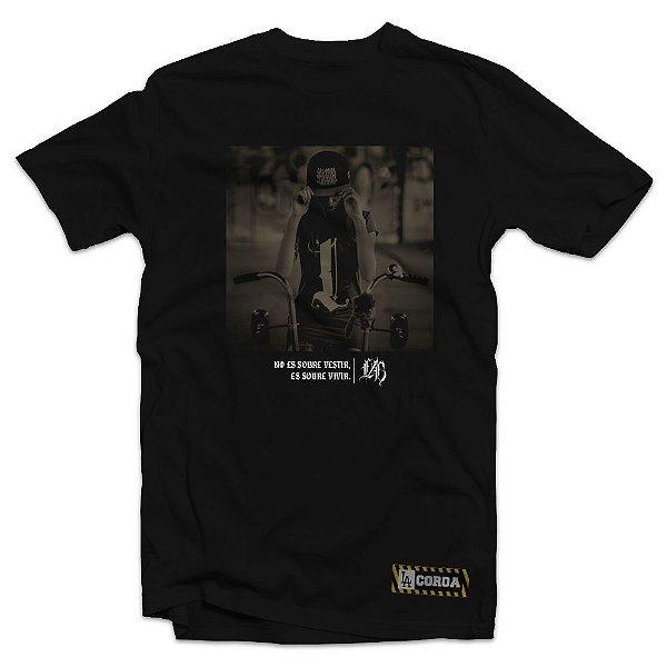 Camiseta Low Bike | La Coroa  | Preta