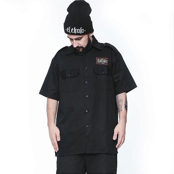 Camisa Work Shirt | La Coroa  | Preta