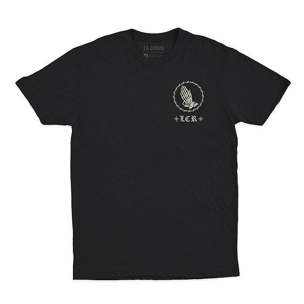 Camiseta Gracias Dios | La Coroa  | Cinza