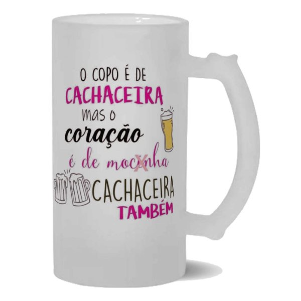 Caneca de Chopp Cachaceira