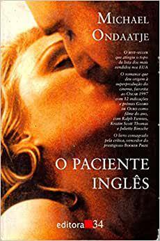 Livro Paciente Inglês, o Autor Ondaatje, Michael (1994) [usado]