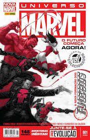Gibi Universo Marvel Nº 01 - Nova Marvel Autor o Futuro Começa Agora! (2013) [usado]