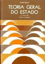 Livro Teoria Geral do Estado Autor Maluf, Sahid [usado]
