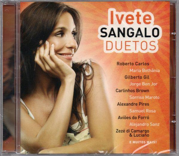 Cd Ivete Sangalo - Duetos Interprete Ivete Sangalo [usado]