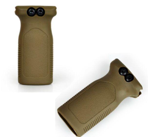 Front Hand Grip Frontal 20 22 Mm T4 Ctt.40 TAN
