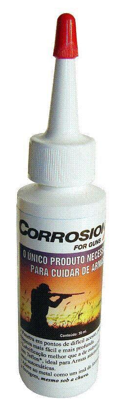 Corrosion X Oleo 30 Ml Anti Ferrugem Manutenção De Armas