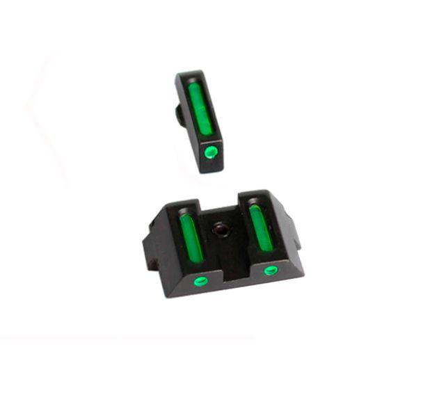 Mira Fibra Glock G17 G19 G22 G23 G24 G25 G26 Green