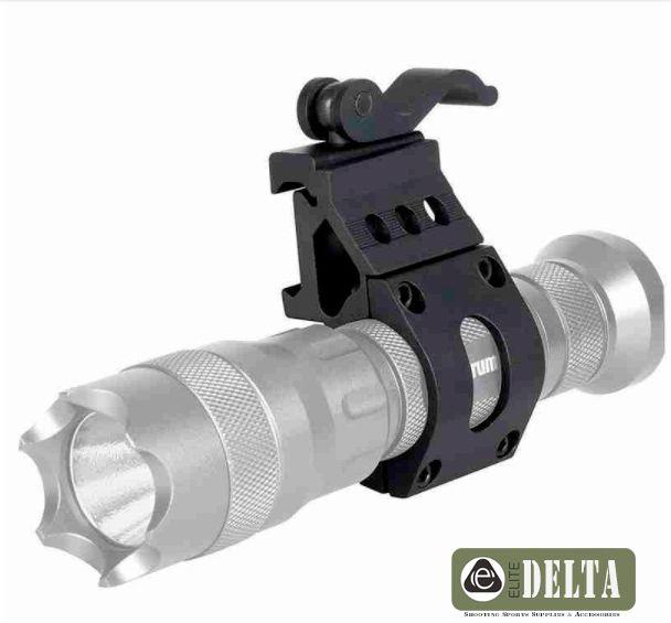 Mount Lanterna Engate Rapido T4 M4 Ctt Trilho 20mm