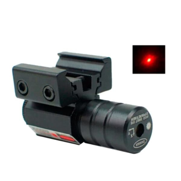 Potente Laser Circular Tático Para Trilho 11mm E 22mm