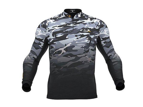 Camiseta De Pesca Camuflada Uv30+ Presa Viva 03