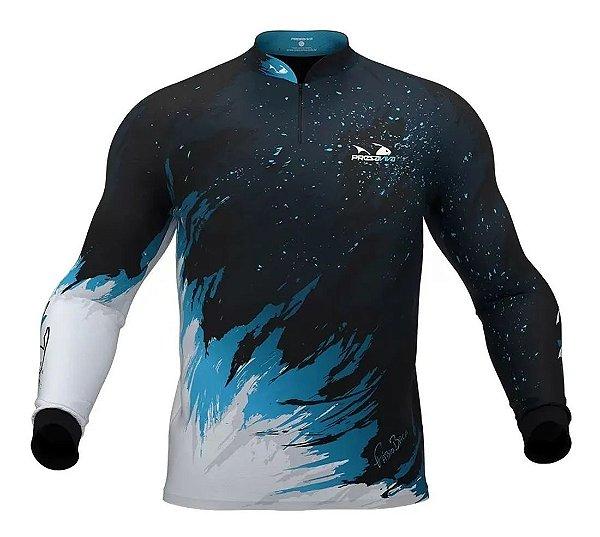 Camiseta Camuflada com Proteção Uv 30+ Baca PresaViva 02 - Pesca / Náutica