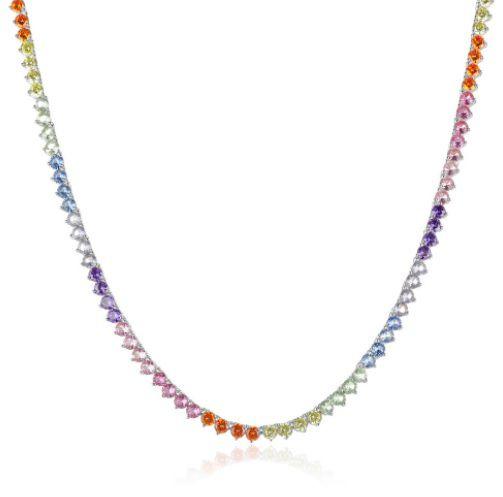Colar Riviera Rainbow 45cm