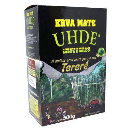 ERVA MATE UHDE MENT/BOLDO 500GR