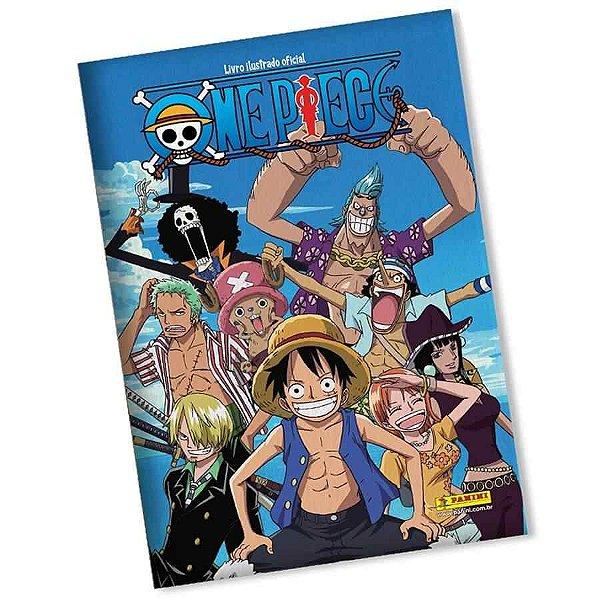 Livro ilustrado Oficial One Piece