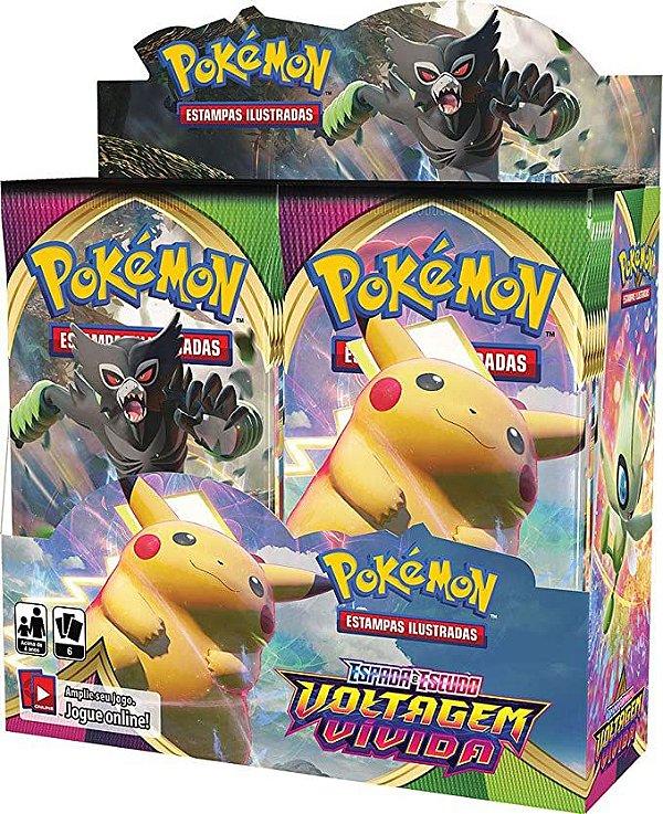Box Pokémon Espada e Escudo Voltagem Vívida