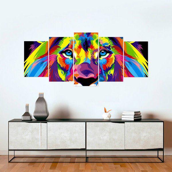Mosaico personalizado do leão, confirmar com a Suellen - sdeczs