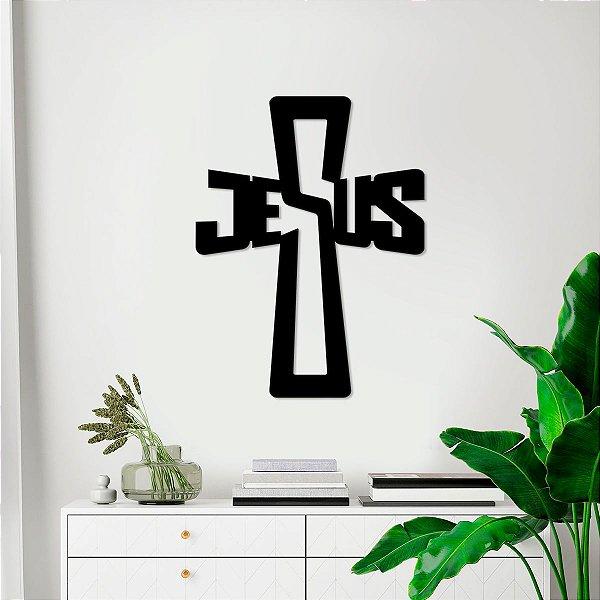 Palavra Decorativa De Parede Jesus