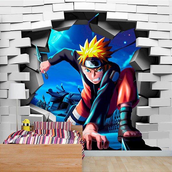 Papel de Parede Personalizado Naruto