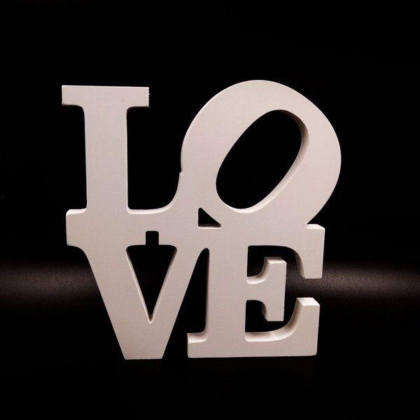Palavra decorativa PROMOCIONAL - Eu te amo - Parede - diksvx