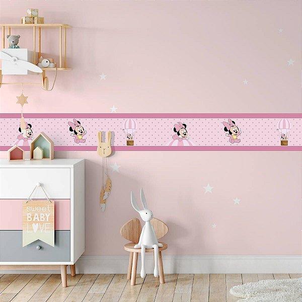 Faixa Decorativa Minnie Mouse