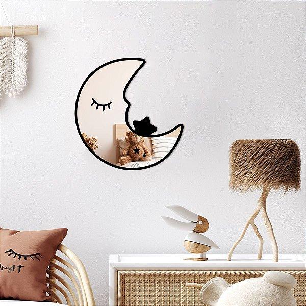 Lua Decorativa Espelhada