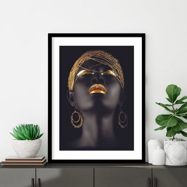 Quadros promoção (mulher negra) venda- Rô-Foto do perfil @carolmesteves - wxdccy