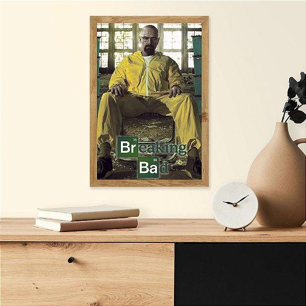 Placa Decorativa Breaking Bad