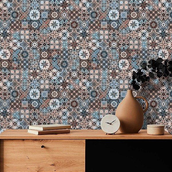Adesivo de Azulejo Hidráulico Veneza