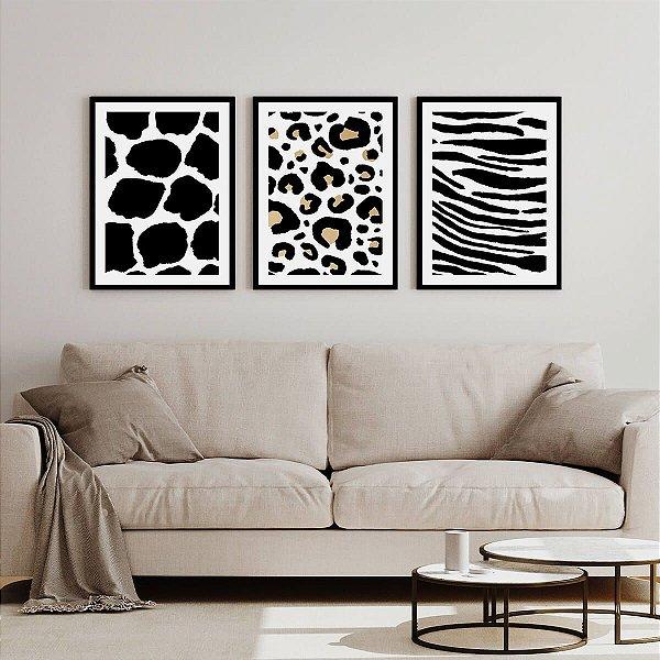 Quadros Decorativos Animal Print