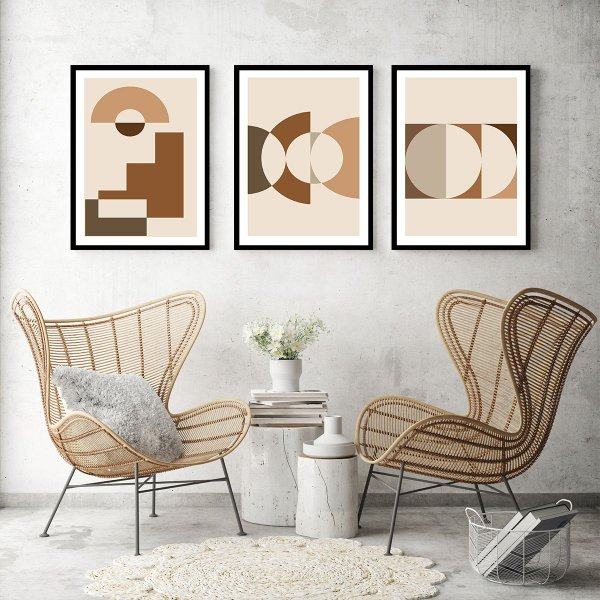 Quadros Decorativos Geométrico Abstrato