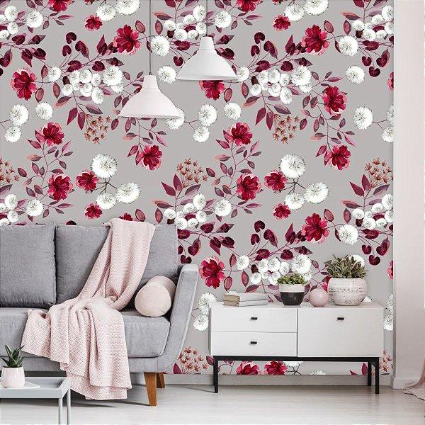 Papel de Parede Floral Daphne