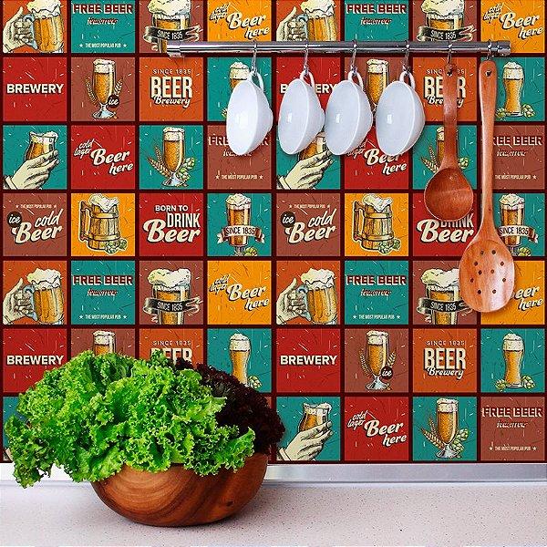 Papel de Parede Para Cozinha Pub Beer