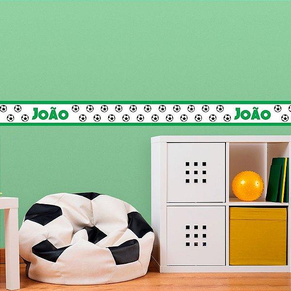 Faixa Decorativa Infantil Futebol