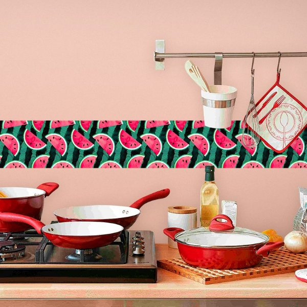 Faixa Decorativa para Cozinha Melancia