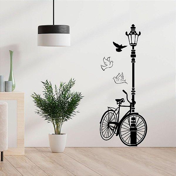 Adesivo Decorativo Bicicleta