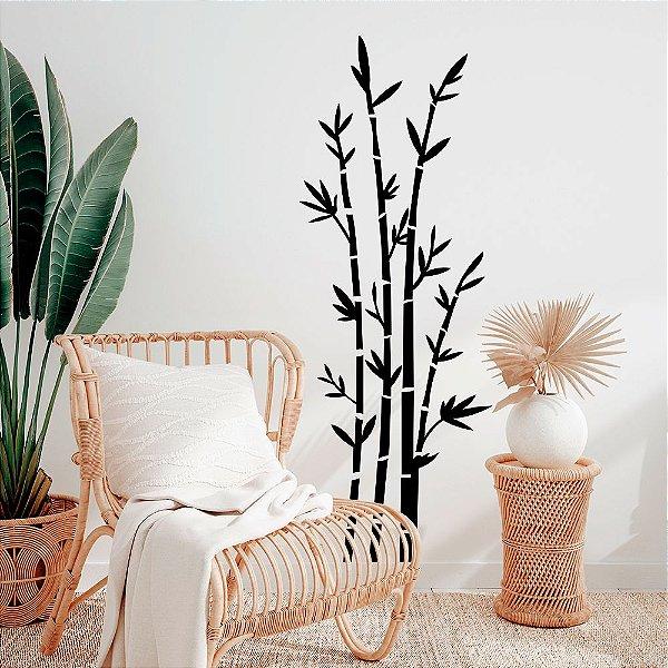 Adesivo Decorativo Bambu
