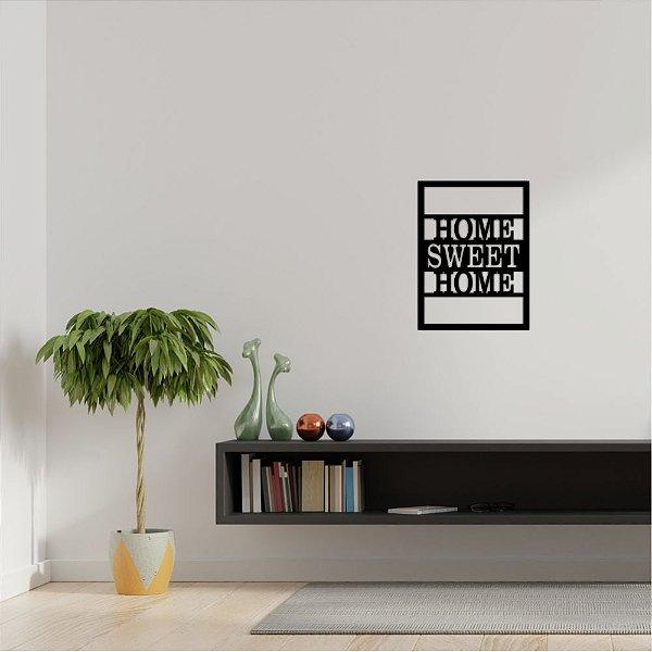 Quadro Decorativo Em PVC Home Sweet Home