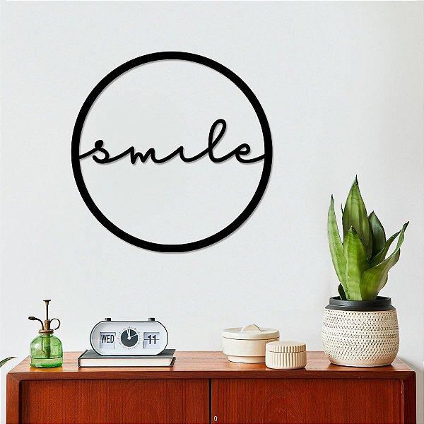 Quadro Decorativo 3D Smile