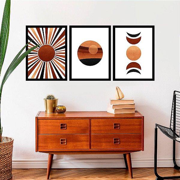 Kit Quadro Decorativo Sun