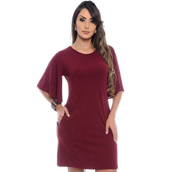 Vestido Curto B'Bonnie M/F Antonella Vinho