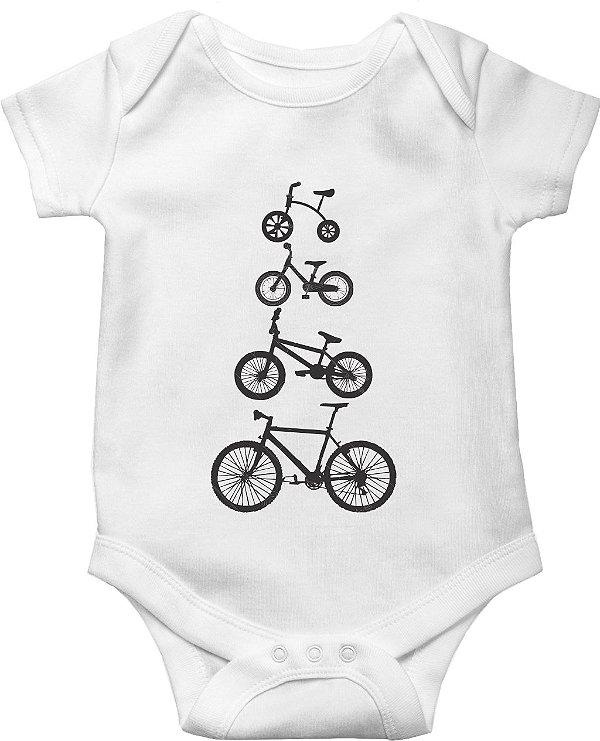 Body Bebê Minhas bicicletas