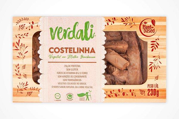 COSTELINHAS VEGETAL EM CUBOS BARBECUE 230g - VERDALI