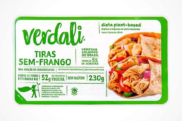 TIRAS SEM FRANGO FOOD SERVICE 2,5 kg - VERDALI